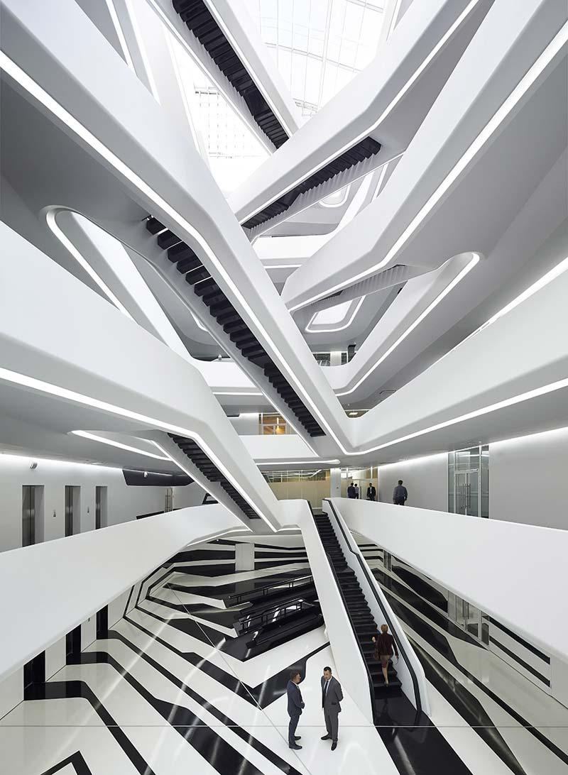 Dominion Office Building / Zaha Hadid Architects