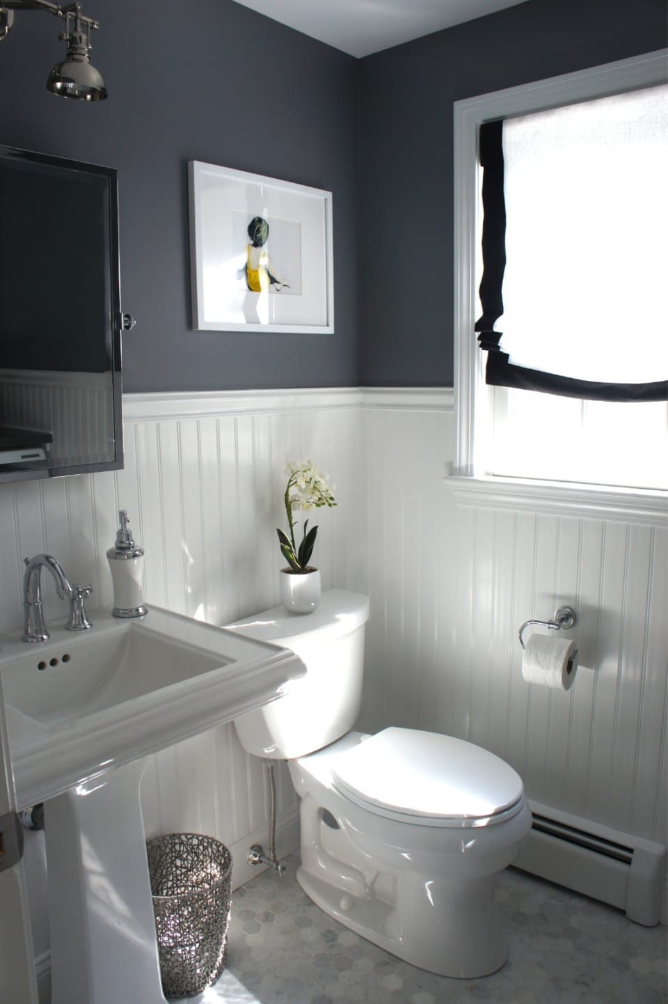 Bathroom wainscoting – what it is and how to use