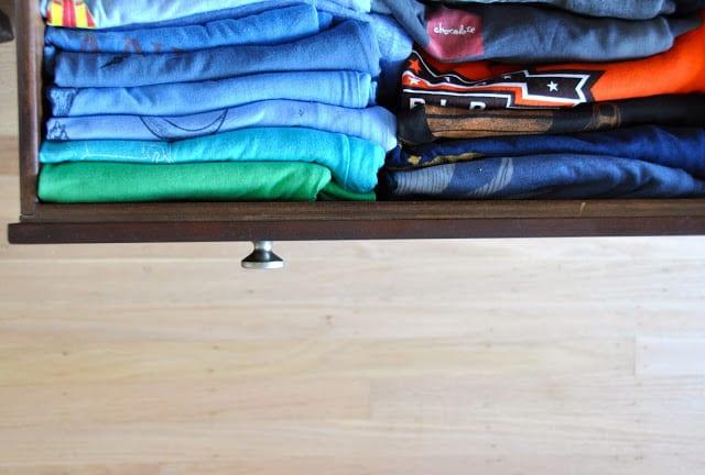 Deliciously Organized Shirts