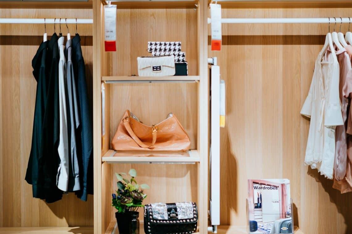 Repurpose your closet space