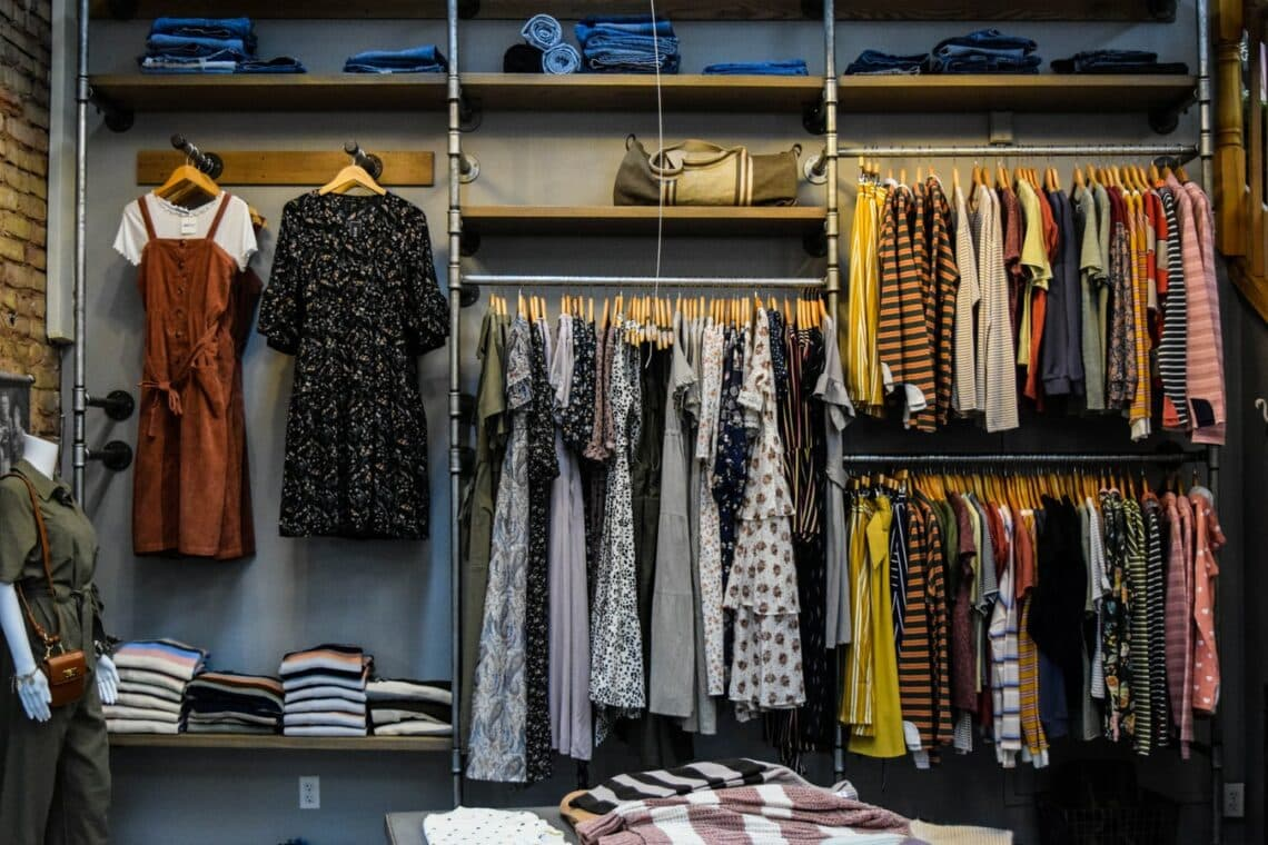 Store your clothes by category