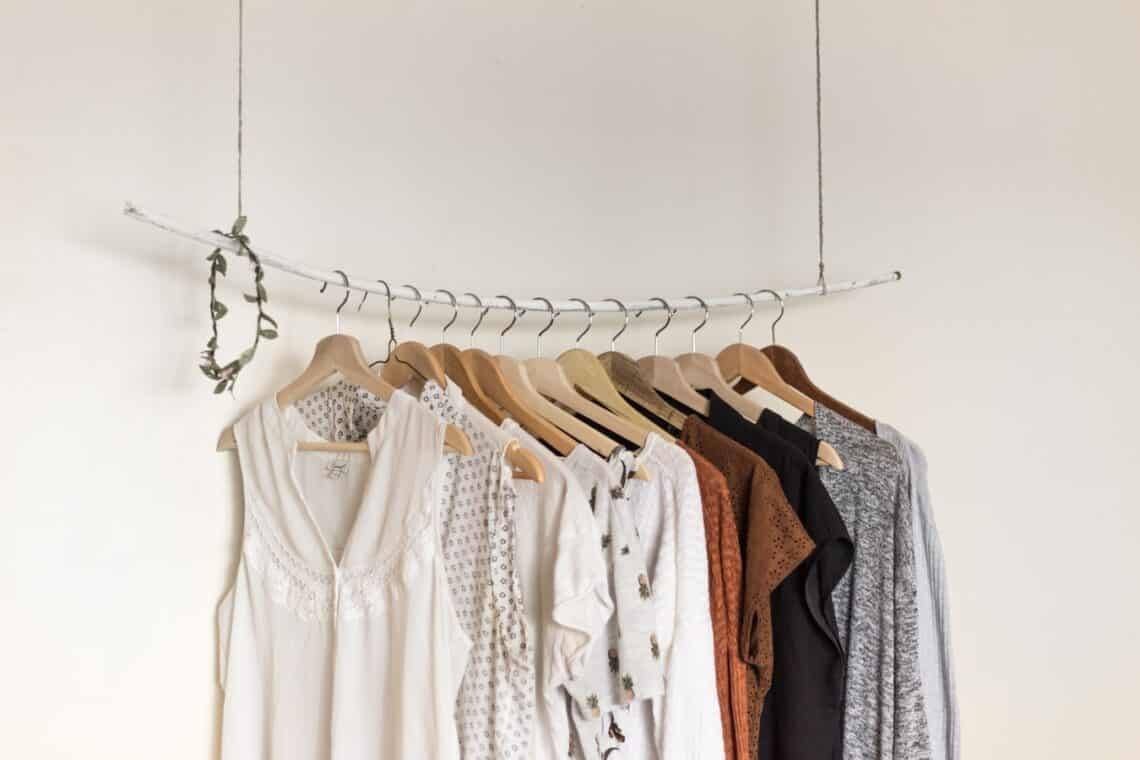 Use coordinating hangers